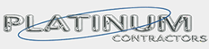 Platinum Contractors Logo